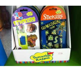 Stickers 3D & Stickers Glow-in-dark